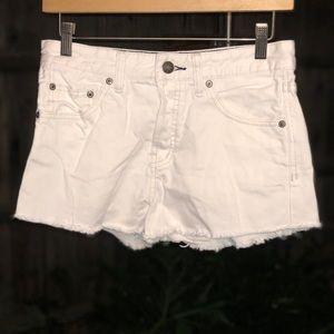 Free People mini shorts